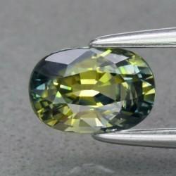 Saphir bicolore 1,01 carats