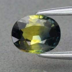 Saphir bicolore 0,73 carats