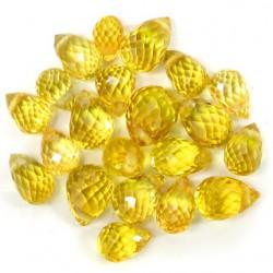 21 Saphir jaune 6,61 carats